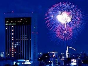 隅田川花火とホテル
